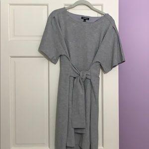 Express Grey Dress Size M